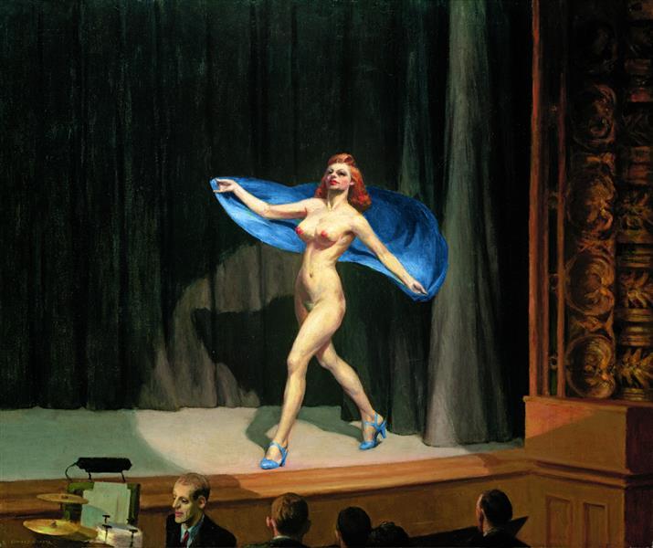 Girlie Show, 1941 - Edward Hopper