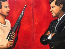 Oswald as Judas Vs. JFK as Messiah - Wilfredo Argueta Hernandez