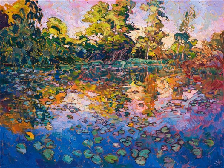 Water Lilies, 2016 - Erin Hanson