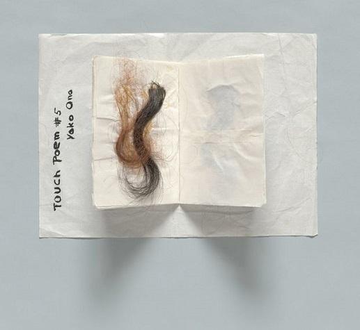 Touch Poem #5, c.1960 - Yoko Ono