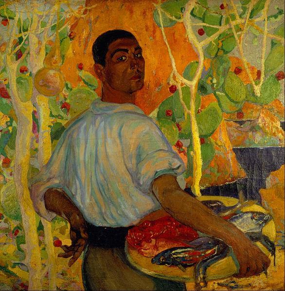 Majorcan Fisherman, c.1915 - Roberto Montenegro Nervo