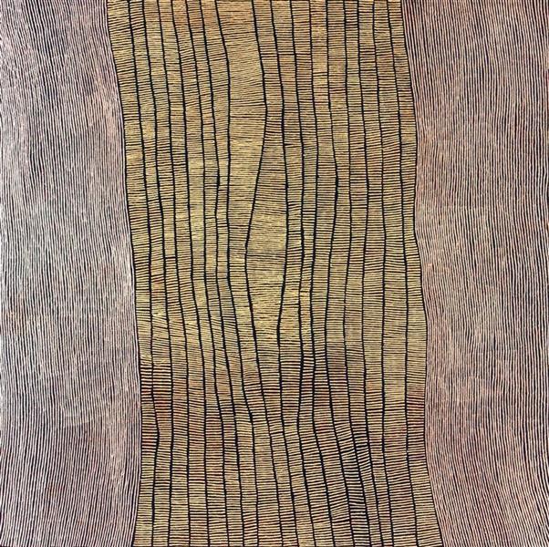 Untitled (Rockhole Site of Marrapinti), 2005 - Doreen Reid Nakamarra