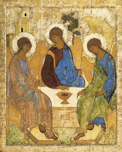 Trinity, c.1410 - Andréi Rubliov