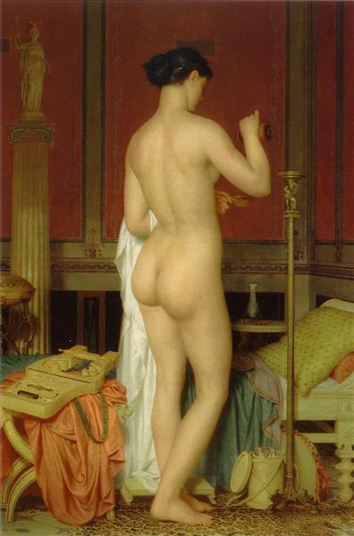 Sappho, 1867 - Charles Gleyre