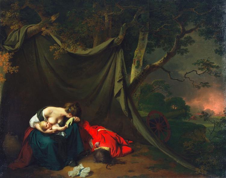 The Dead Soldier, 1789 - Joseph Wright