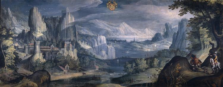 Landscape, 1615 - Tobias Verhaecht