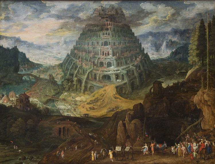 The Tower of Babel - Tobias Verhaecht