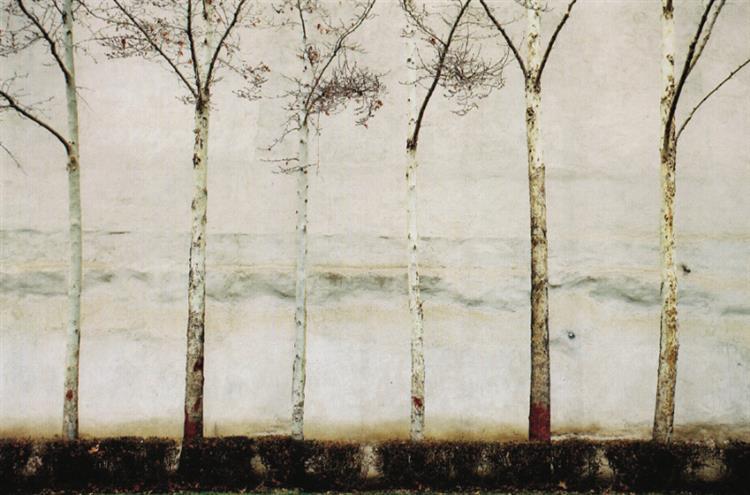 The wall #4, 2010 - Abbas Kiarostami