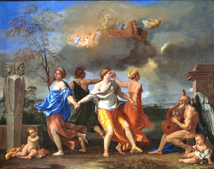 Dance to the Music of Time, 1634 - Nicolas Poussin