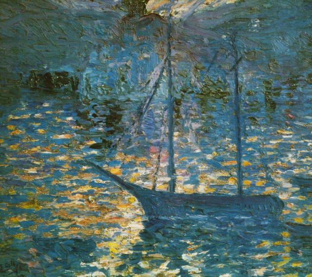 Boat, c.1918 - Salvador Dali - WikiArt.org