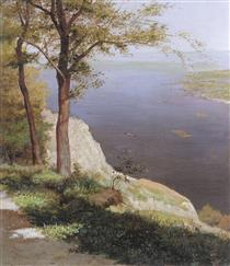 View on the Dnipro River - Mykola Murashko