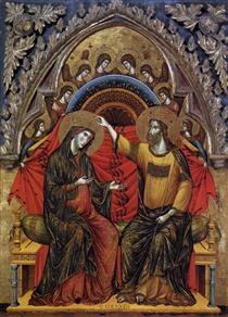 Coronation of the Virgin - Паоло Венециано