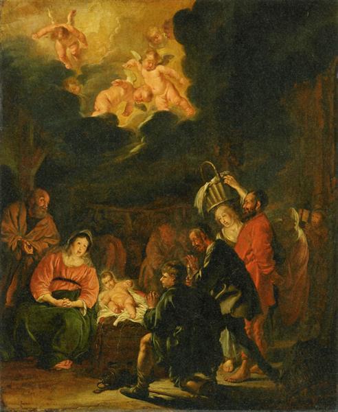 Adoration of the Shepherds, 1645 - Pieter Codde