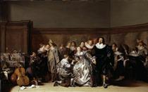 An Elegant Company - Pieter Codde