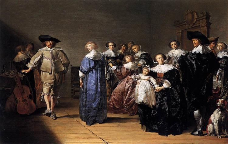 Merry Company, 1633 - Pieter Codde