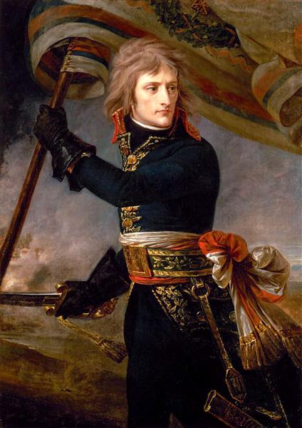 Bonaparte at the Pont D'Arcole, 1796 - Antoine-Jean Gros - WikiArt.org
