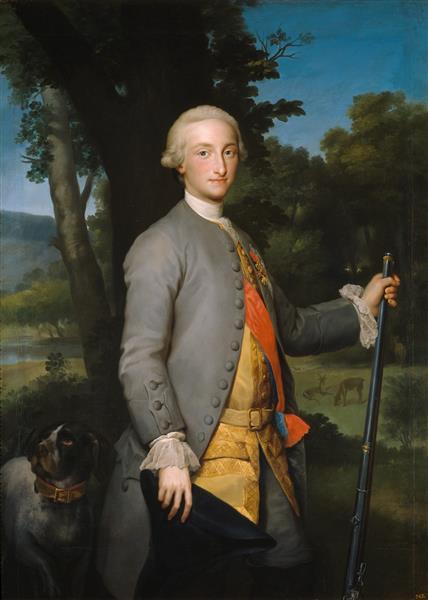 Carlos IV, Prince of Asturias, 1765 - Raphaël Mengs