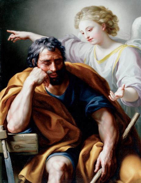 The Dream of Joseph, 1773 - Anton Raphael Mengs