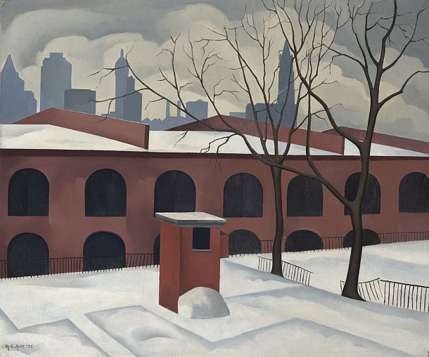 View from Brooklyn, 1927 - George Ault
