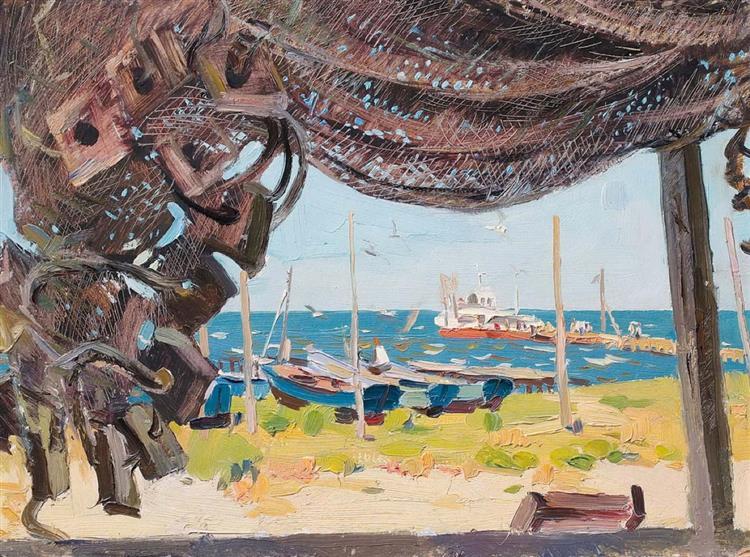 Fishing Nets, 1970 - Sergiy Grigoriev
