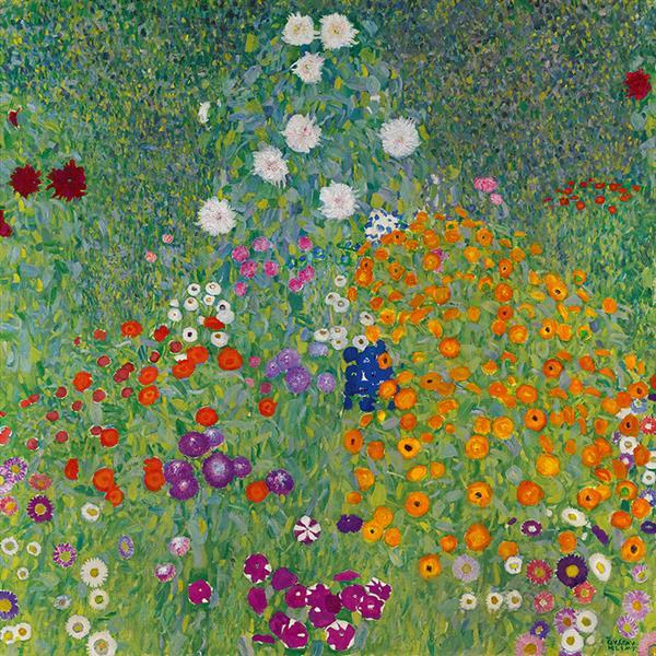 Blumengarten, 1907 - Gustav Klimt