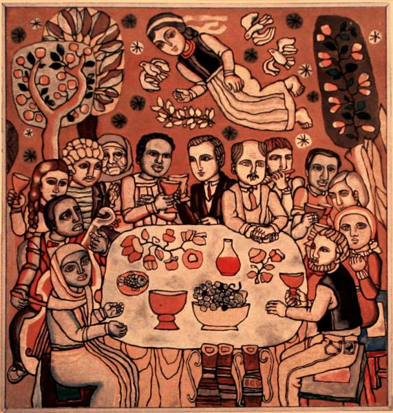 The Ecumenical Supper, 1986 - 1987 - Ivan-Valentyn Zadorozhny