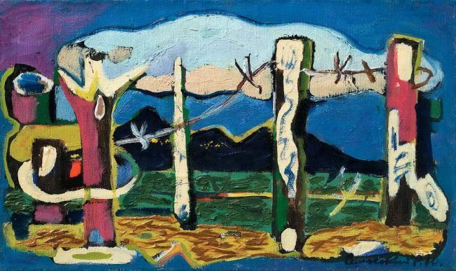 Pillars and Cloud, 1970 - Roman Selsky