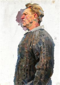 Male Portrait - Viktor Shatalin