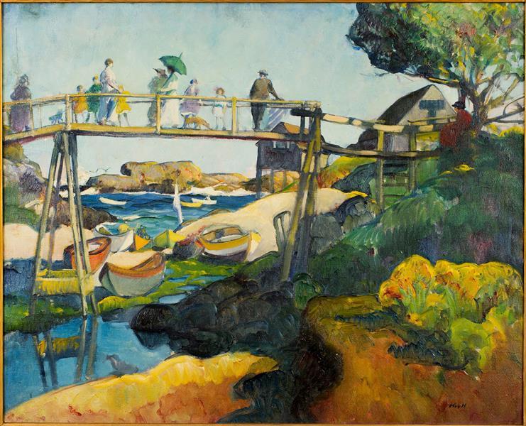 The Gay Bridge, 1919 - Leon Kroll