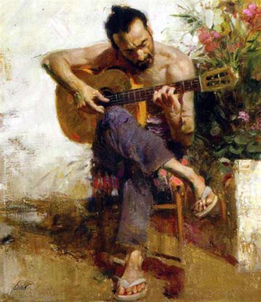 The Gypsy - Pino Daeni