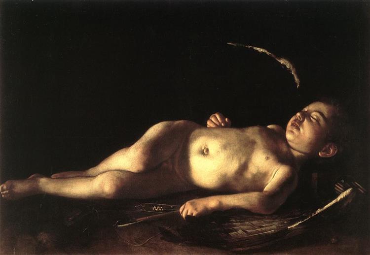 Sleeping Cupid, 1608 - Caravaggio
