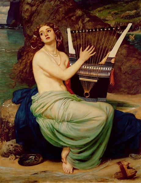 the Siren, 1864 - Edward Poynter