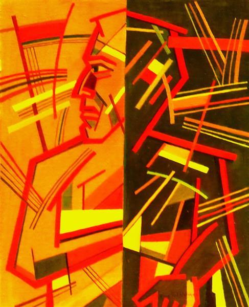 Person of Two Sides, 2009 - Nina Tokhtaman Valetova