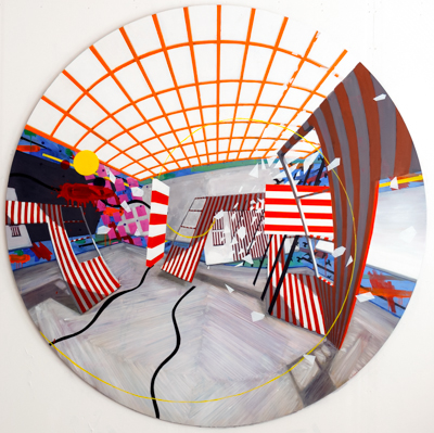 Dividers Collide, 2008 - Erik Sigerud