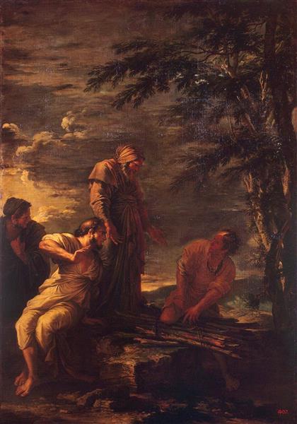 Democrito E Protagora, 1664 - Salvator Rosa