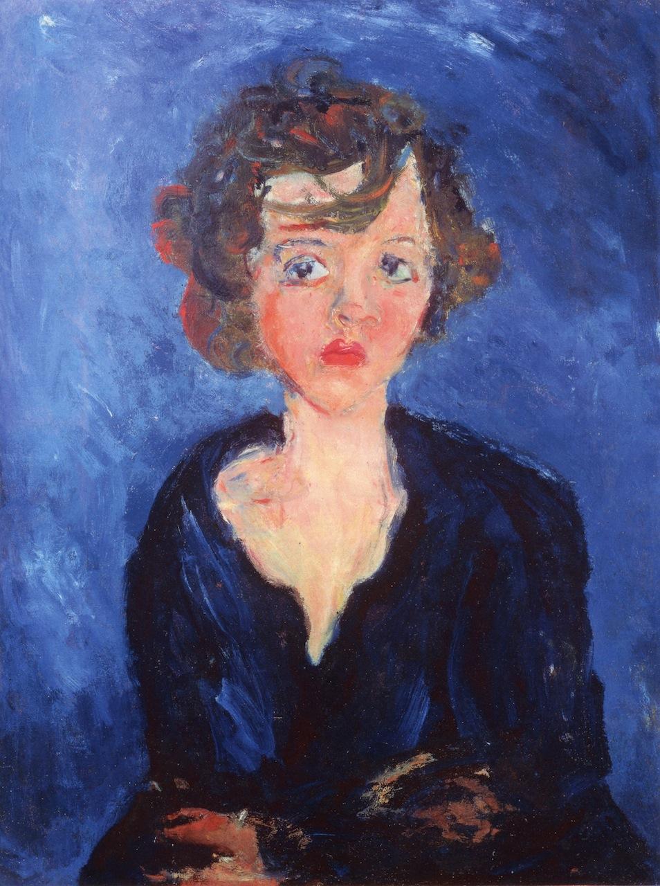 Polish girl 1929 chaim soutine for Chaim soutine