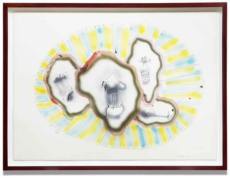 Untitled (ABC 52), 1965 - John Altoon