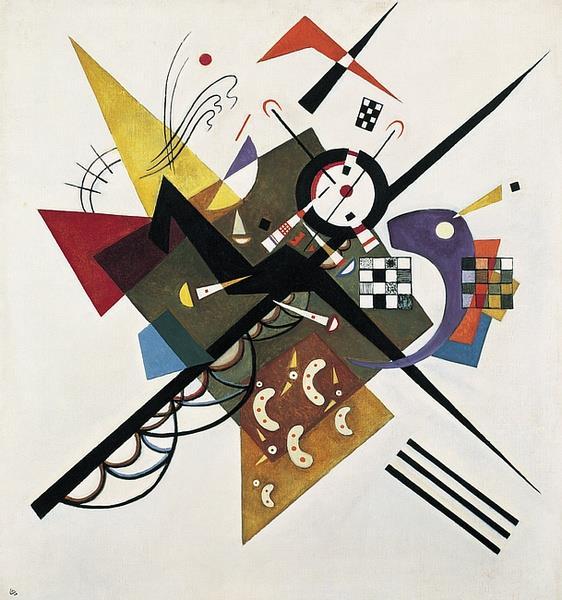 On White II, 1923 - Wassily Kandinsky