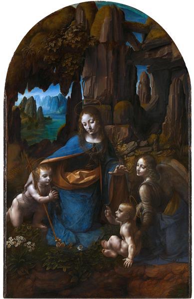 岩窟聖母, 1483 - c.1505 - 達文西