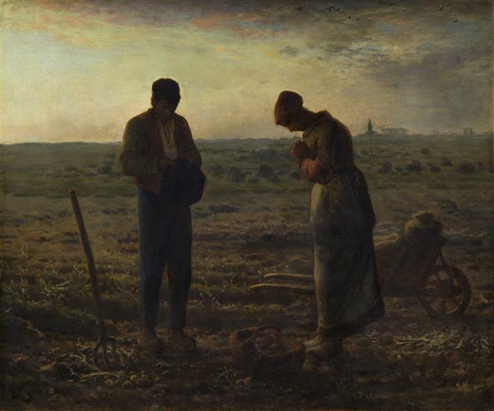 The Angelus, 1857 - 1859 - Jean-Francois Millet