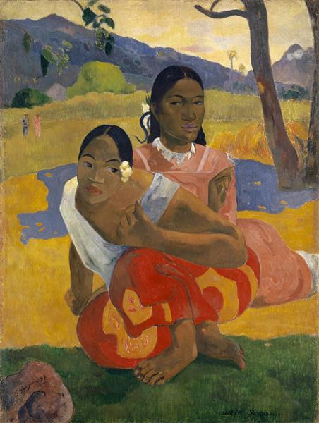 When Will You Marry?, 1892 - Paul Gauguin