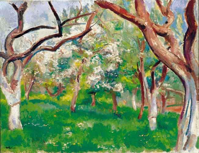 Blossoming Orchard - Wojciech Weiss
