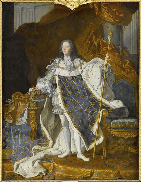 Louis XV, 1742 - Hyacinthe Rigaud
