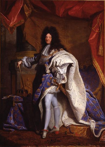 Louis XIV, Roi De France - Hyacinthe Rigaud