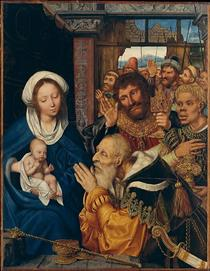 Adoration of the Mag - Quentin Massys