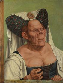 An Old Woman (The Ugly Duchess) - Quentin Massys