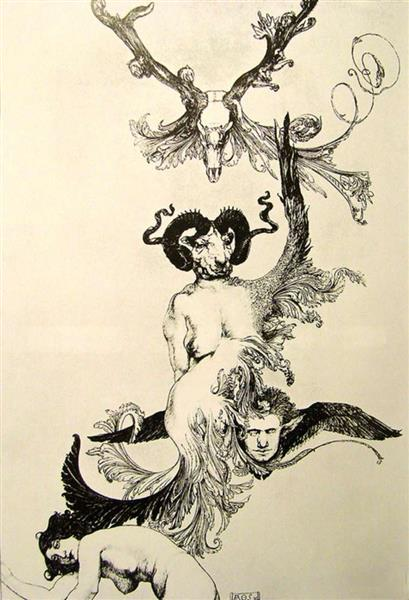 Ascension of the Ego from Ecstasy to Ecstasy, 1913 - Austin Osman Spare