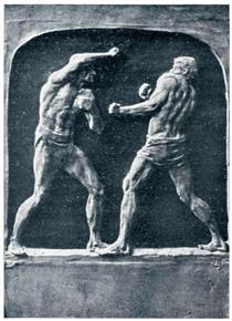 The Wrestlers - Joseph Urbania