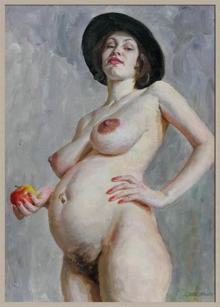 Kate Wear a Hat, 1998 - Viktor Lyapkalo