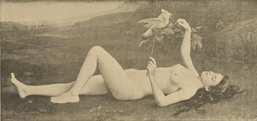 Printemps, 1918 - Alexandre-Jacques Chantron